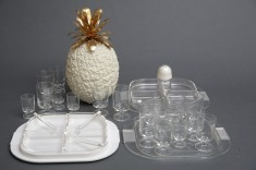 WHITE PARTY BARWARE SET