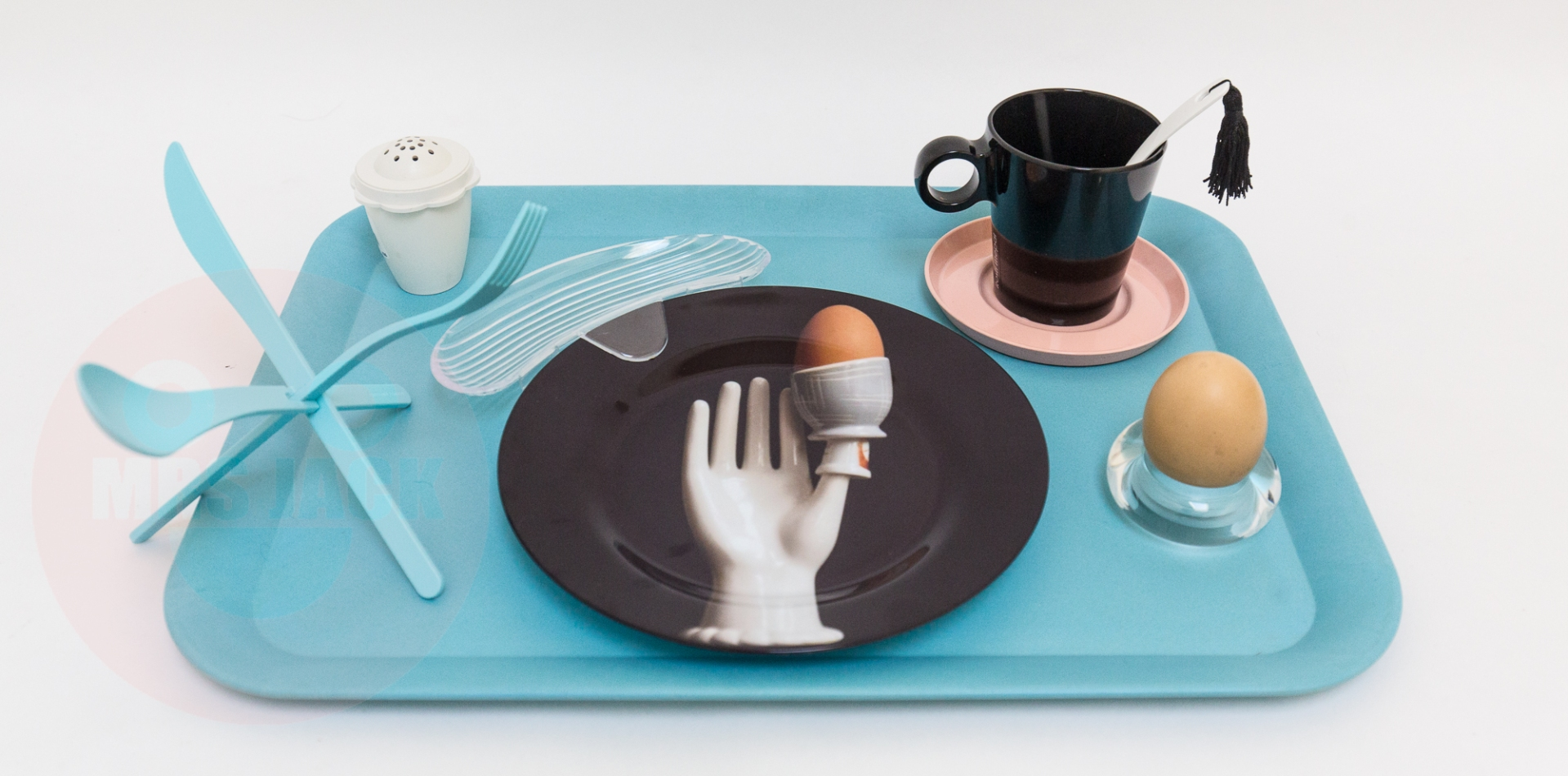 UNBREAKABLE BREAKFAST TRAY