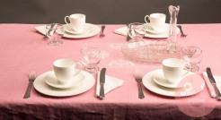 TABLESCAPE: PORCELAIN & MAGNIFYING CRYSTAL