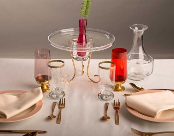 FRAGILE PARTY TABLESCAPE
