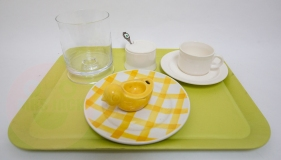 """checkered plates Decor """"Nappe"""" Orchies Moulin des Loups France Nord €65,-"""
