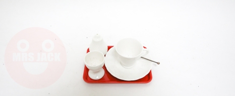 FINE BONE CHINA TRAY