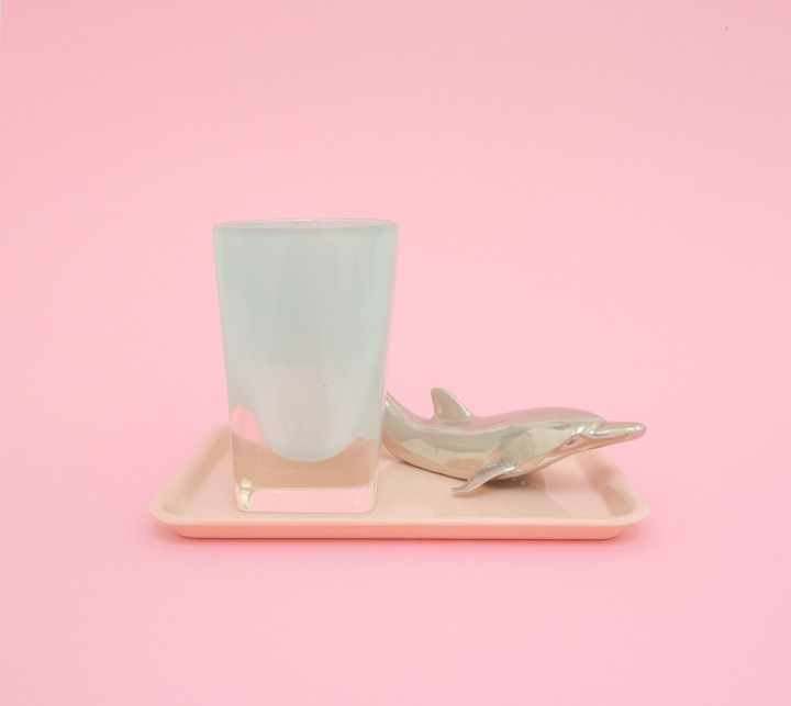 PASTEL MINI TRAY DOLPHIN