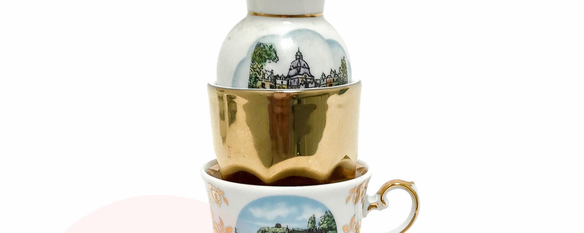 glitzy german souvenir set