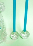 snowball candle holders