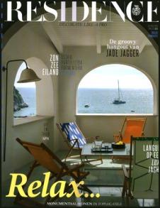 Residence Magazine cover 7–8 2019